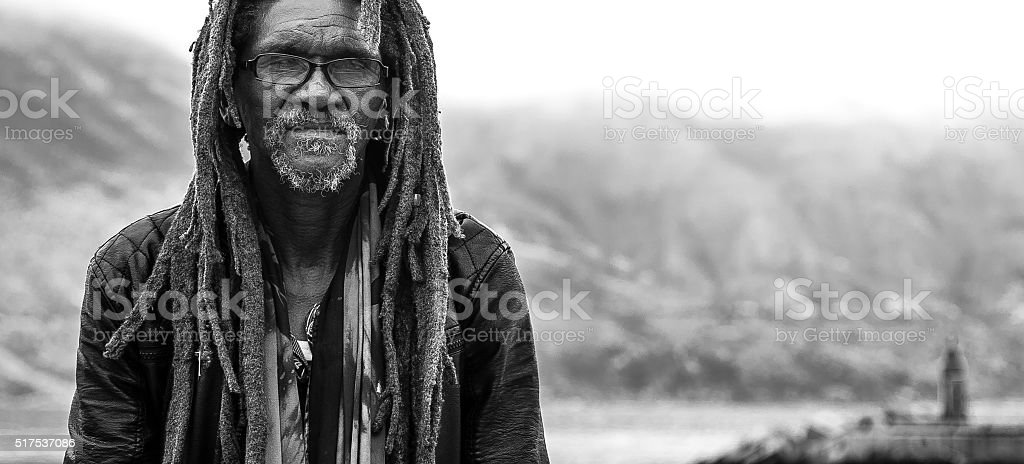 Rastaman. stock photo