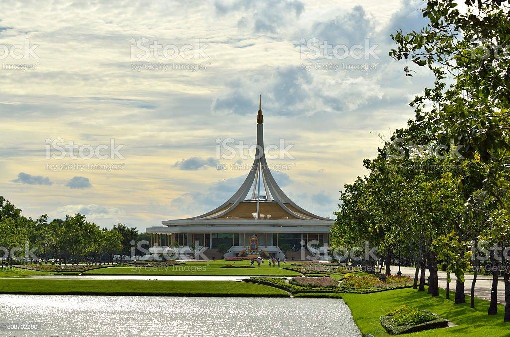 Ratchamangkhala Pavilion. stock photo