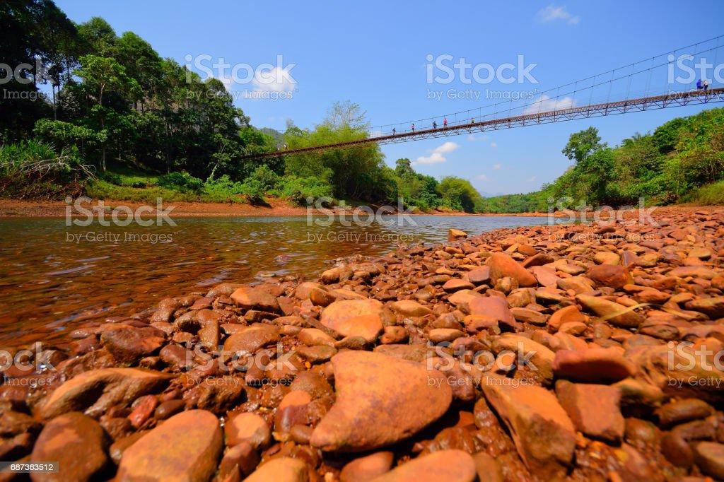 Ratchaprapa Dam, Thailand stock photo