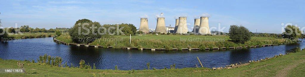Ratcliffe-on-Soar Power Station stock photo