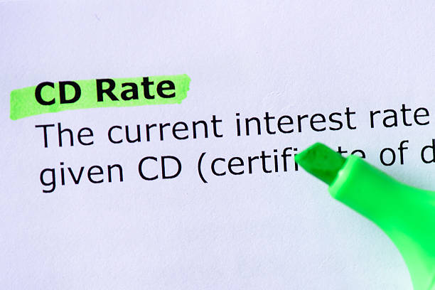 CD Rate stock photo