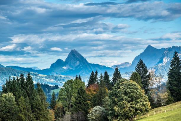 Raten pass, Canton Zug, Switzerland Raten pass, Canton Zug, Switzerland zug stock pictures, royalty-free photos & images