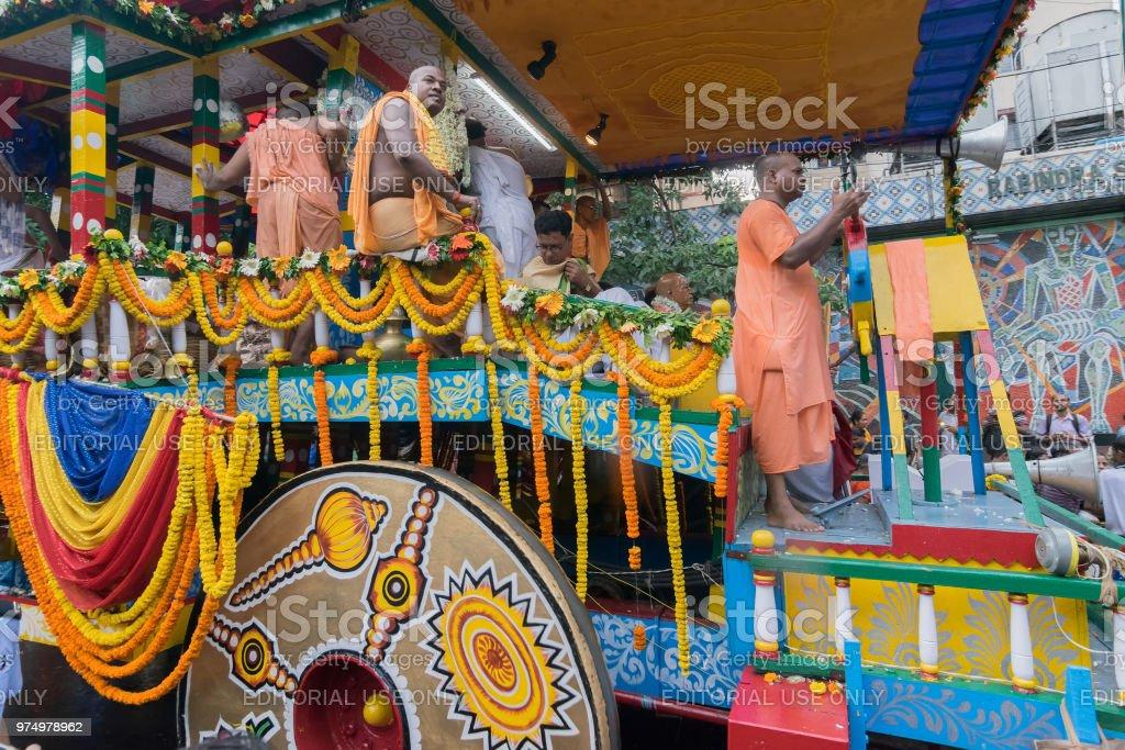 Rath Jatra in Kolkata, Westbengalen - Indien – Foto