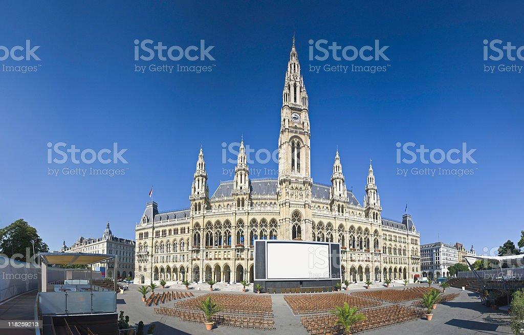 Rathaus, Vienna royalty-free stock photo