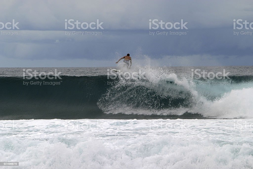 Rather be surfing royalty-free stock photo