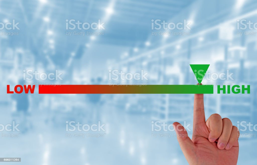 Rating and Evaluation Concept stock photo