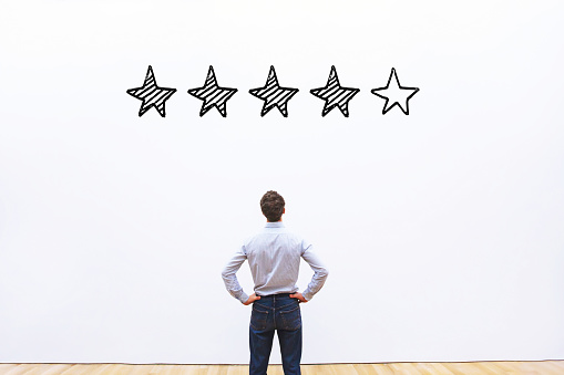 Rating Concept Reputation Management Stock Photo - Download Image Now