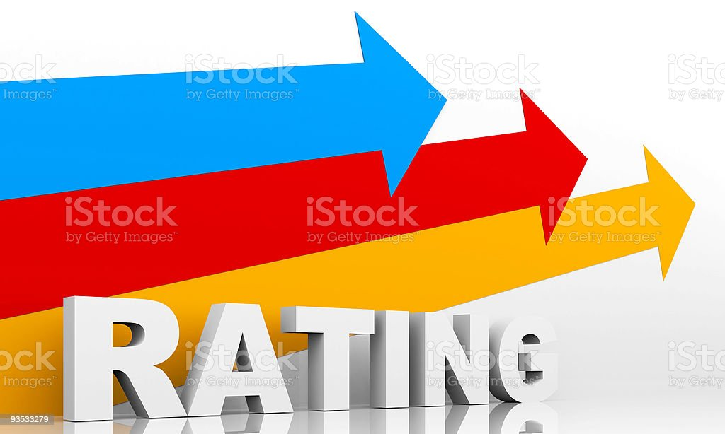 Rating royalty-free stock photo