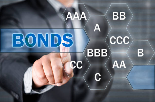 Ratings on bonds stock photo