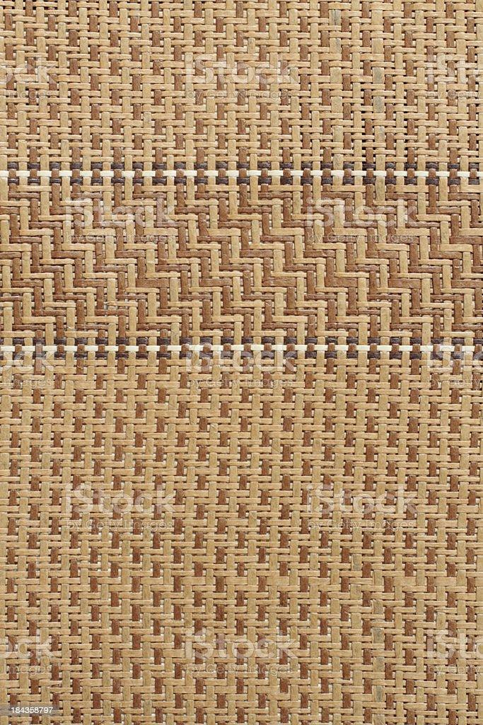 Rattan Mat Background stock photo