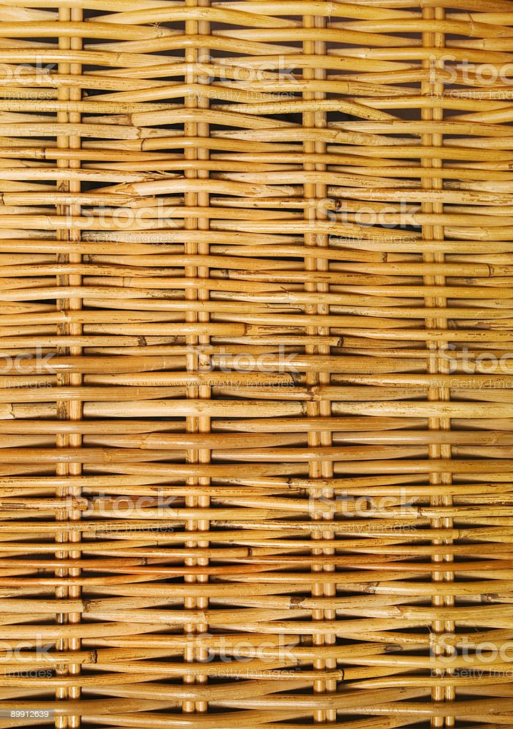 Motivo in Rattan foto stock royalty-free