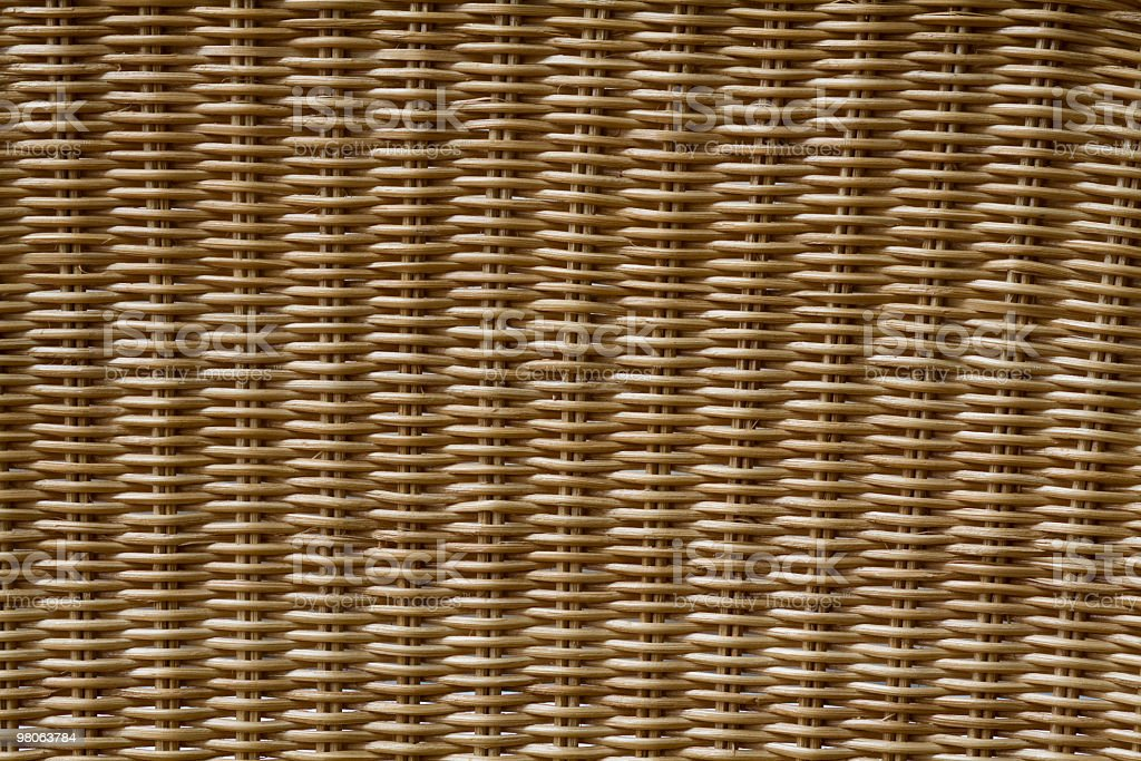 Rattan royalty-free stock photo