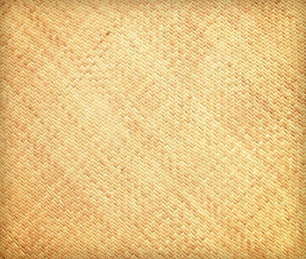 rattan wall background stock photo