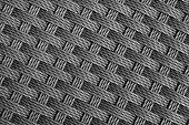 Close up rattan weave seamless pattern background.
