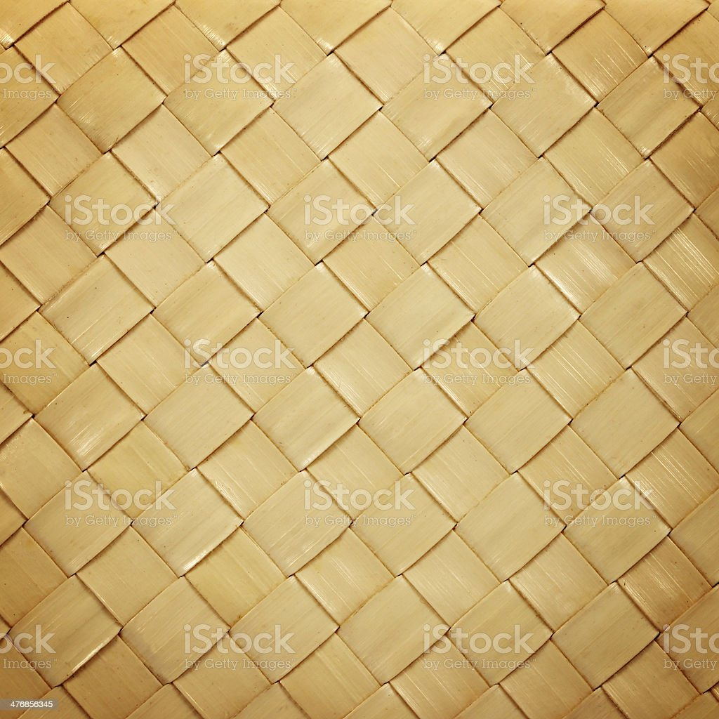 Rattan weave texture and background stock photo