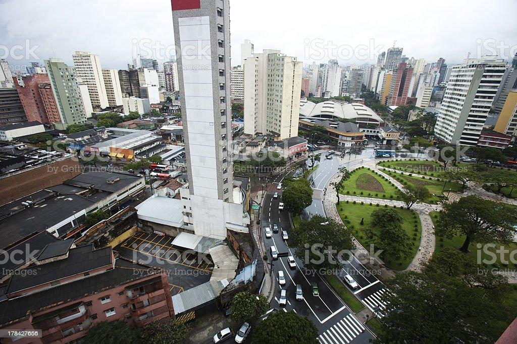 Praça Raul Soares stock photo