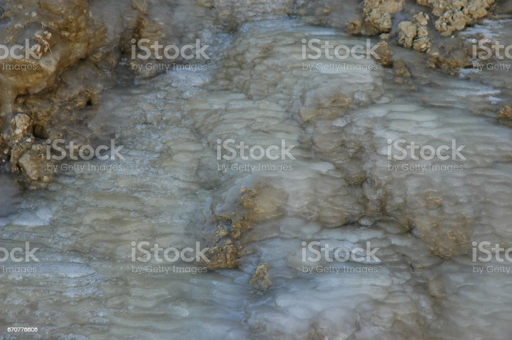 Raureif / Tau / Eis in Spanien stock photo