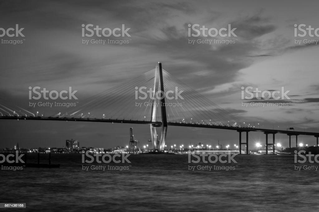 Ravanel Bridge stock photo