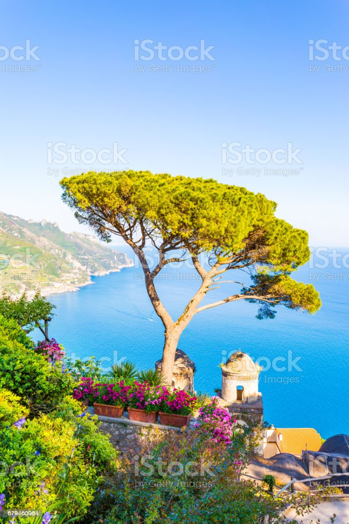 Ravello, Amalfi Coast, Italy royalty-free stock photo