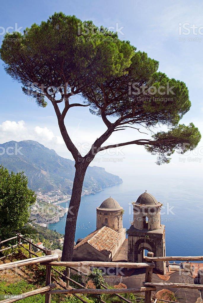 Ravello Amalfi coast Lizenzfreies stock-foto