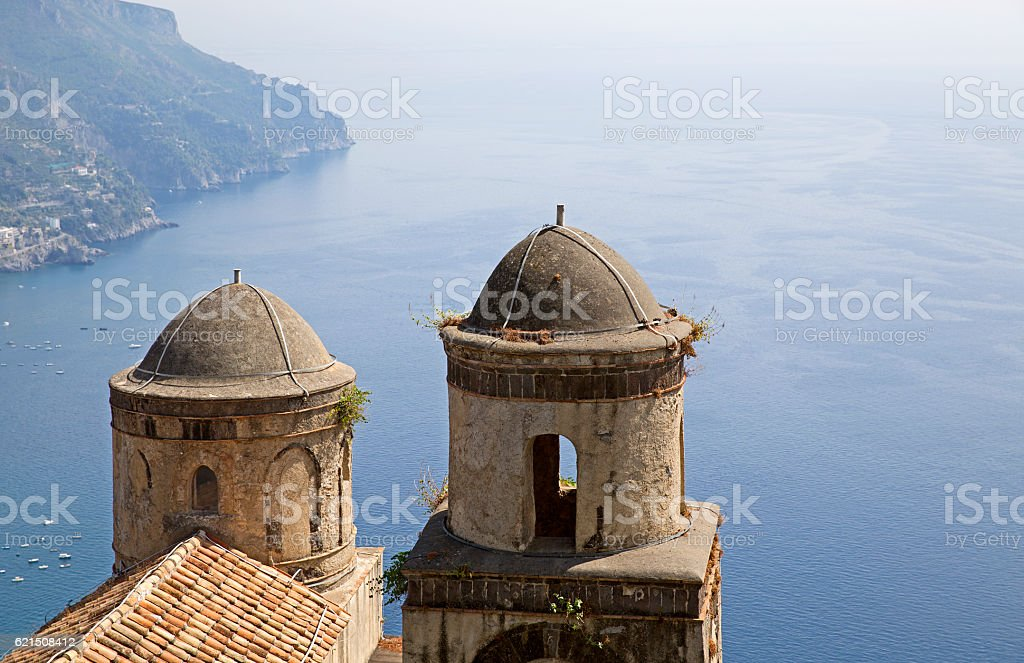 Ravello Amalfi coast photo libre de droits