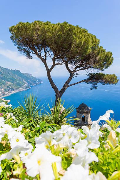 Ravello, Amalfi Coast Salerno, Italy stock photo