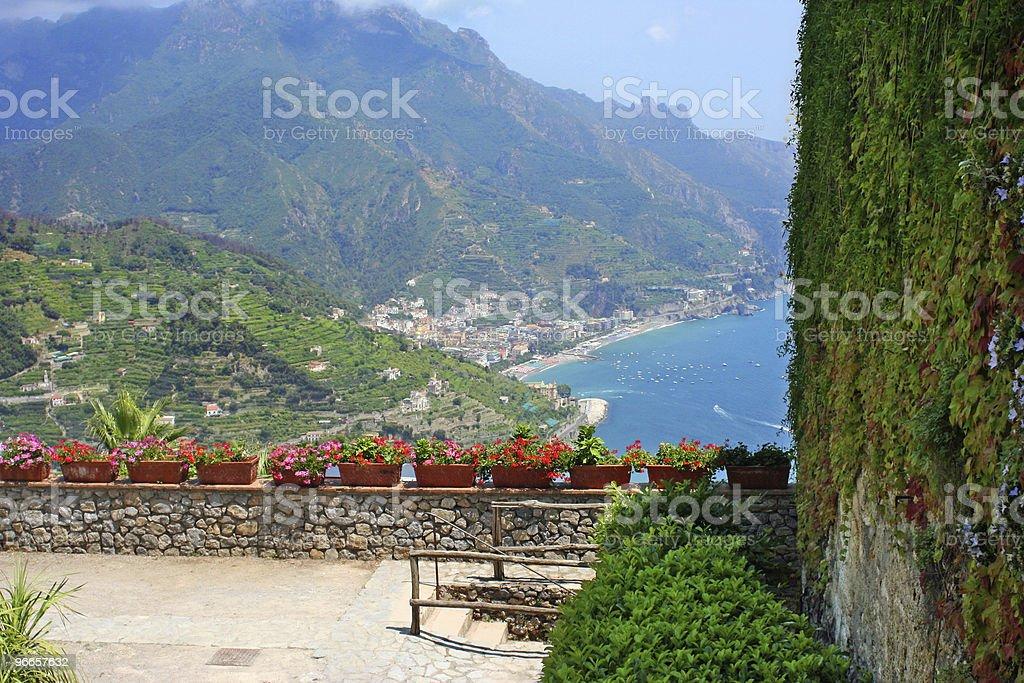 Ravello, Italy stock photo