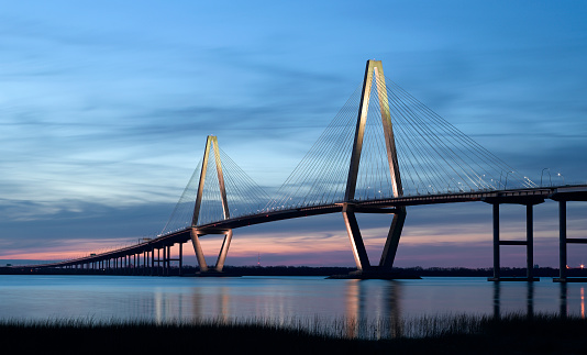 istock Ravenel Bridge (Cooper River Bridge) in Charleston SC 117751351