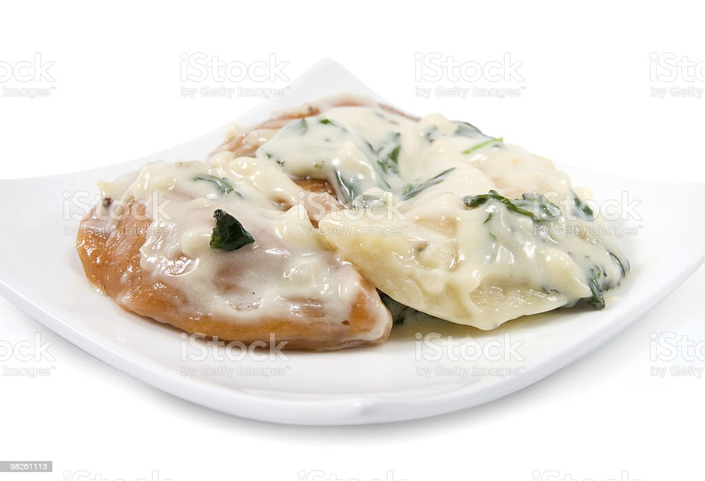 Ravioli royalty-free stock photo