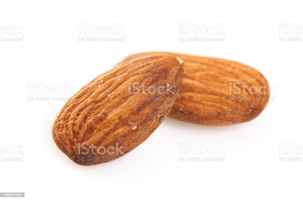 Raw Almonds - Royalty-free Almond Stock Photo