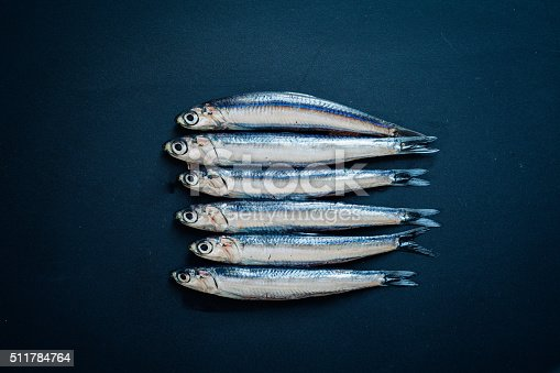 Raw Anchovies