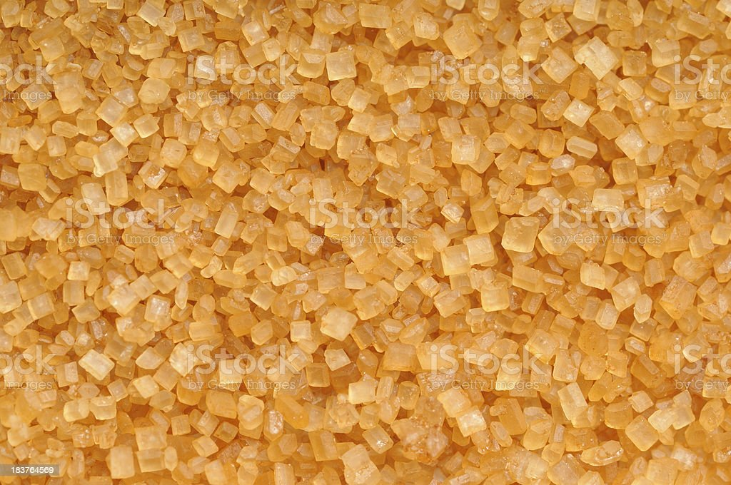 Raw Cane Sugar Background stock photo