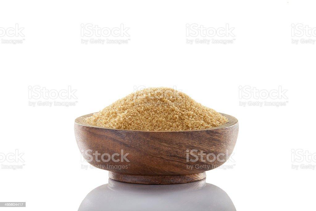 Raw Cane Sugar royalty-free stock photo