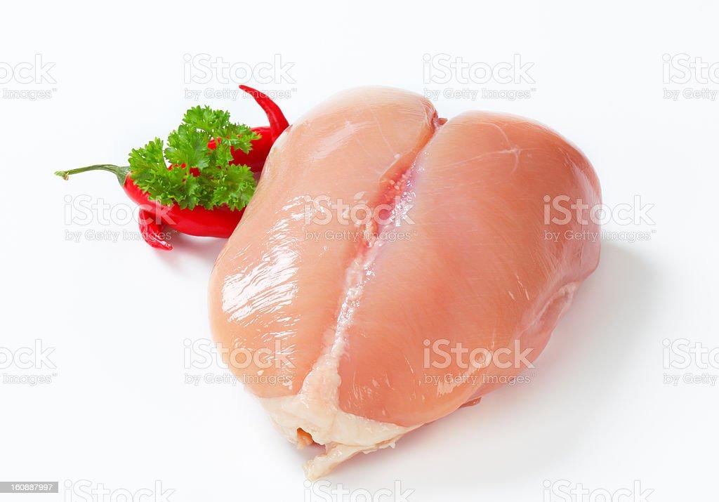 raw chicken breast royalty-free stock photo