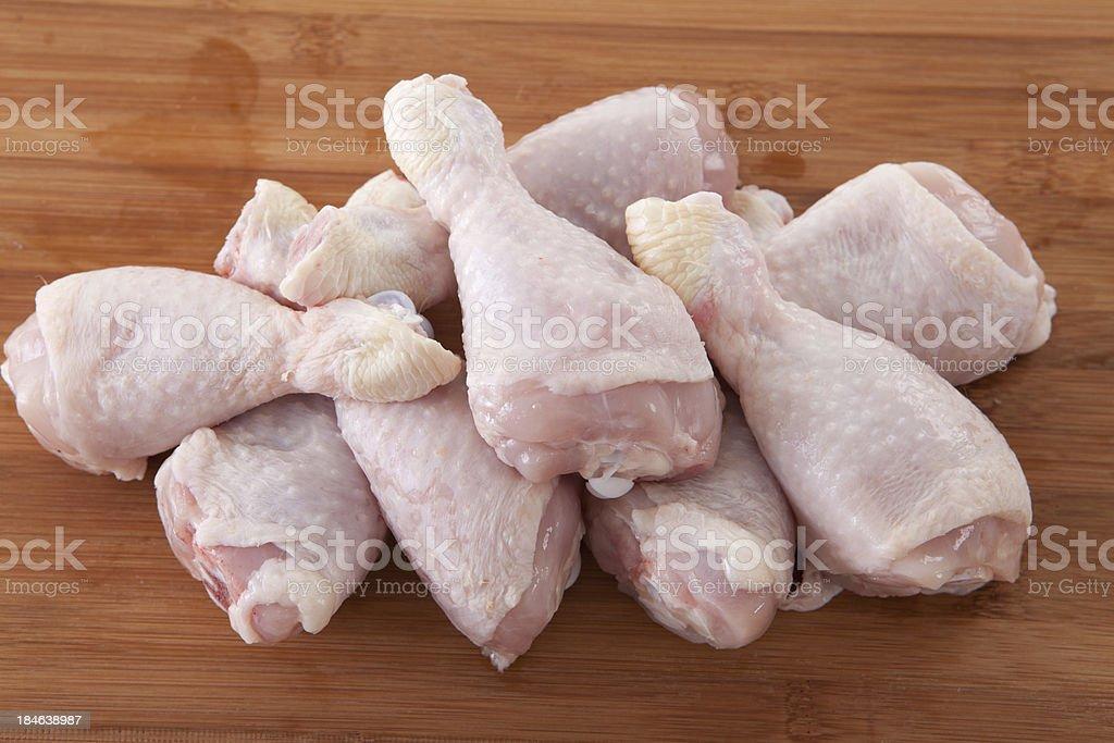 Raw Chicken Legs royalty-free stock photo