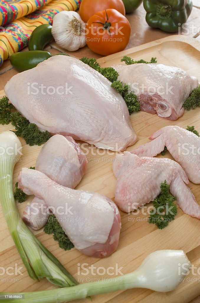 Raw Chicken royalty-free stock photo