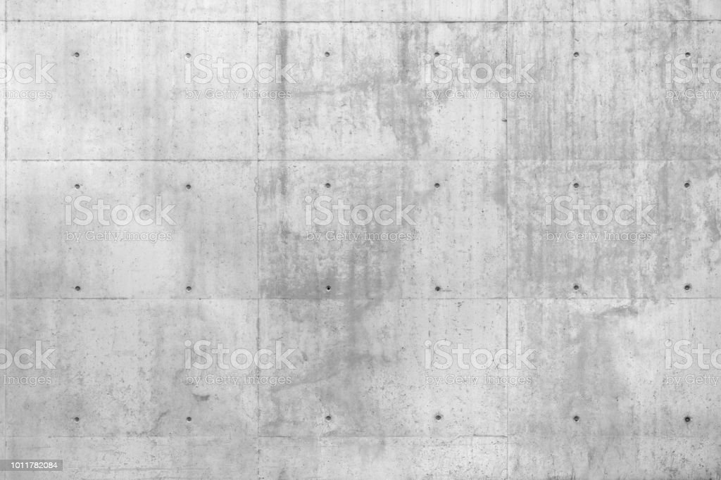 Raw Concrete Beton Wall stock photo