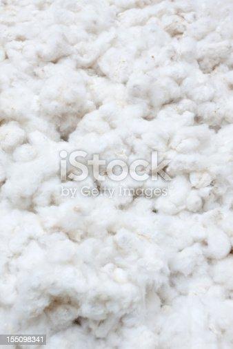 Raw cotton crops texture background