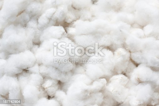 Raw cotton crops texture background