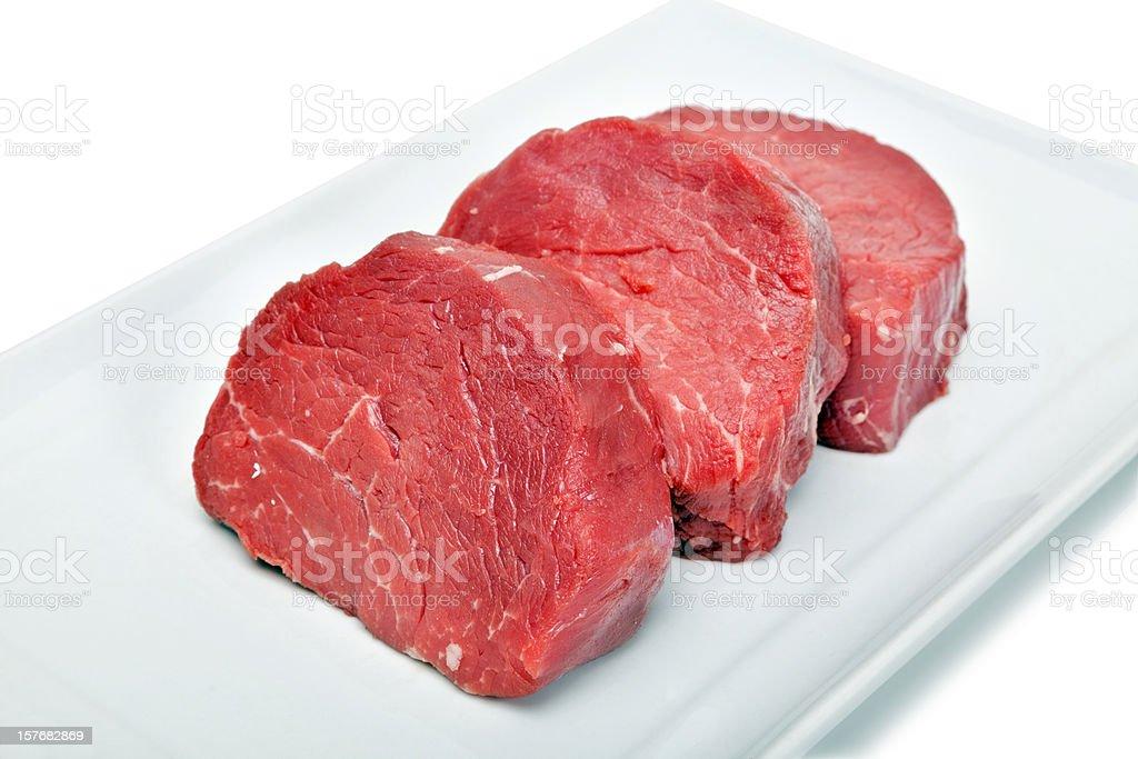 Raw Filet royalty-free stock photo
