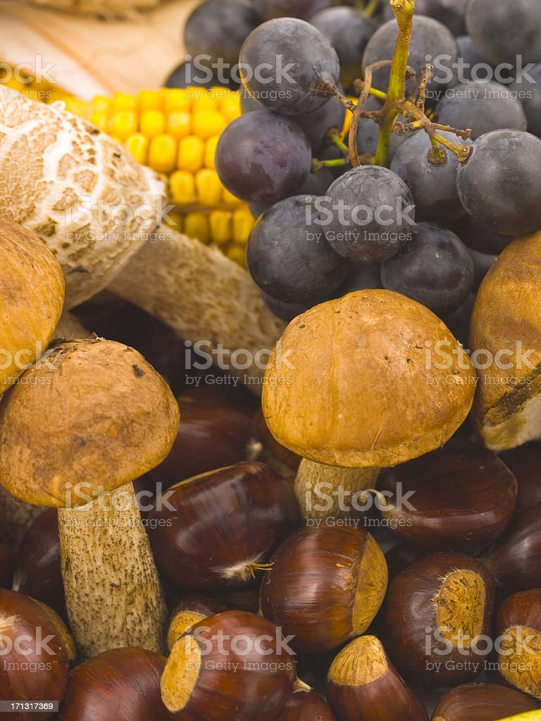 Raw food royalty-free stock photo