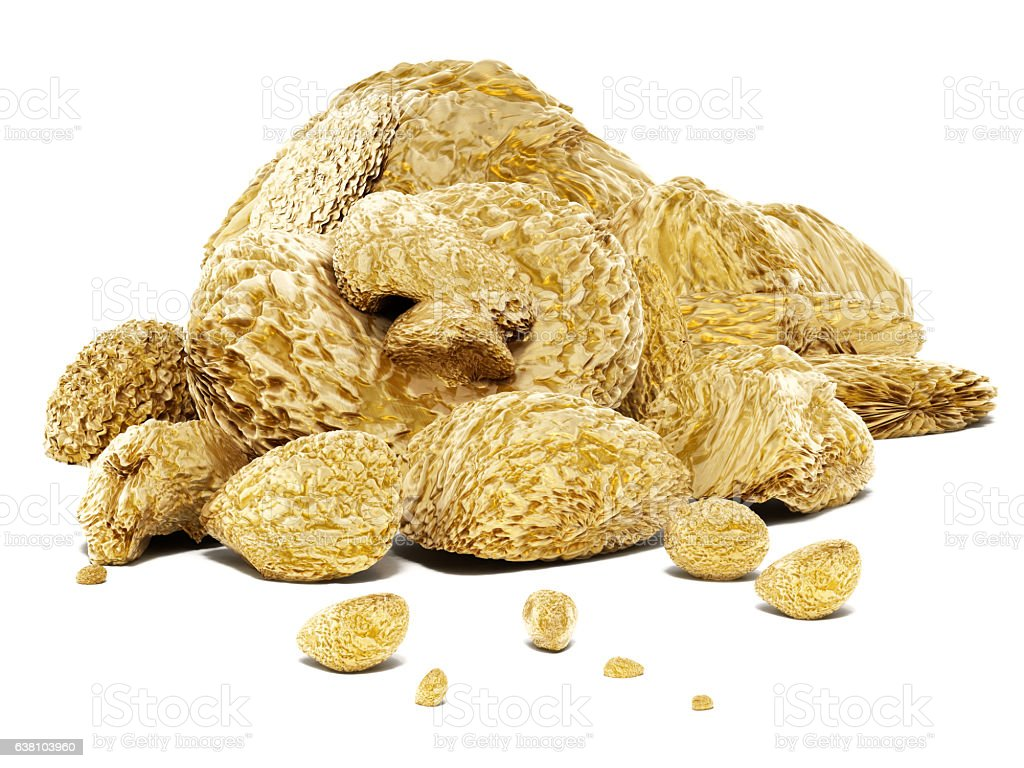 Raw Gold Nuggets Stock Photo - Download Image Now - iStock