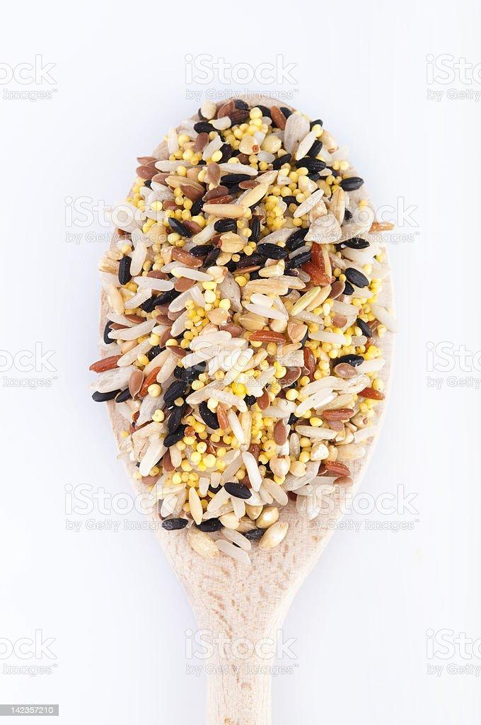 Raw grains royalty-free stock photo