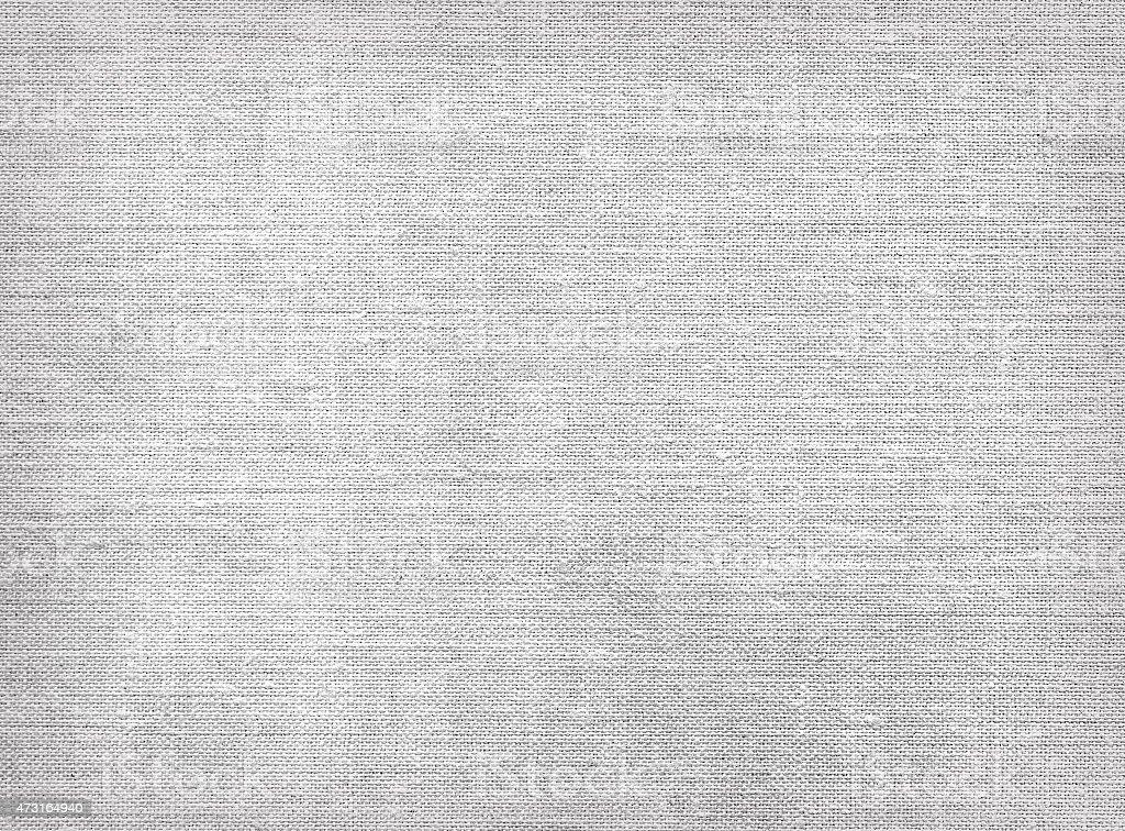 Raw grey linen canvas texture stock photo