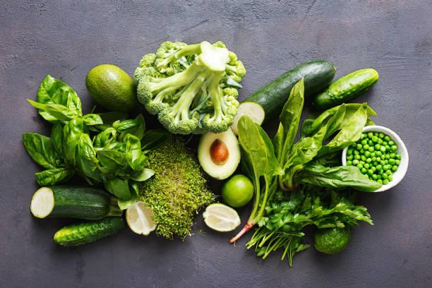 surowa zdrowa żywność czyste jedzenie warzywa źródło białka wegetarianie - kapustowate zdjęcia i obrazy z banku zdjęć
