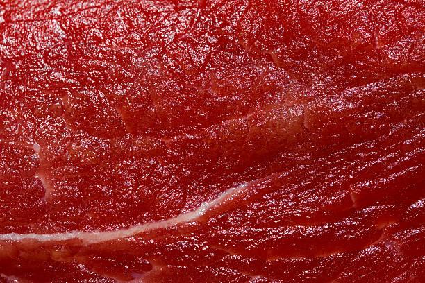 macro de carne crua - meat texture imagens e fotografias de stock