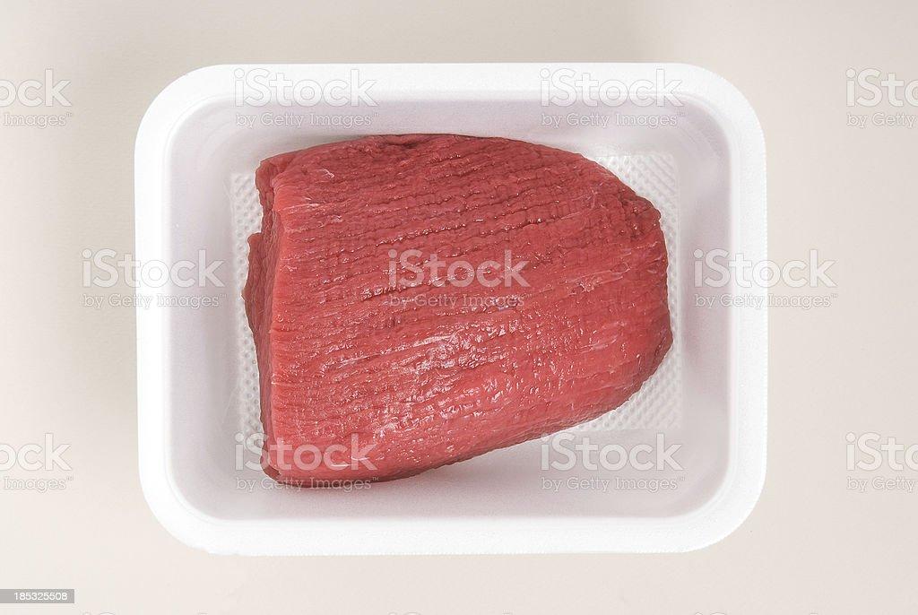 Raw meat. stock photo