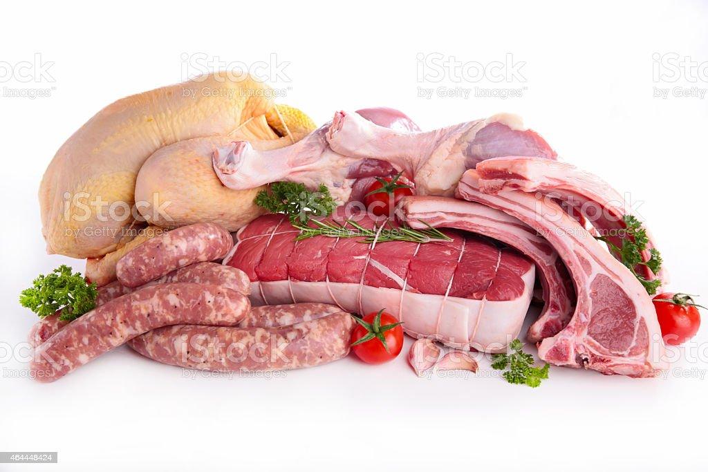 Prima de carne - foto de stock