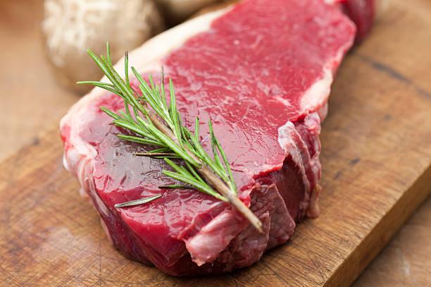 Raw Meat bildbanksfoto