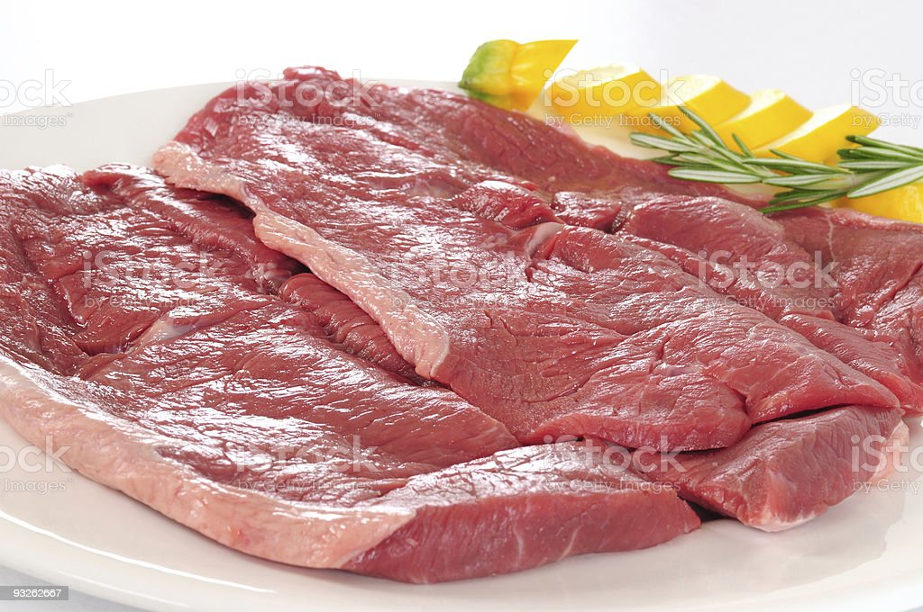 Raw meat. royalty-free stock photo